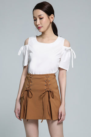 Open Shoulder Blouse 1839