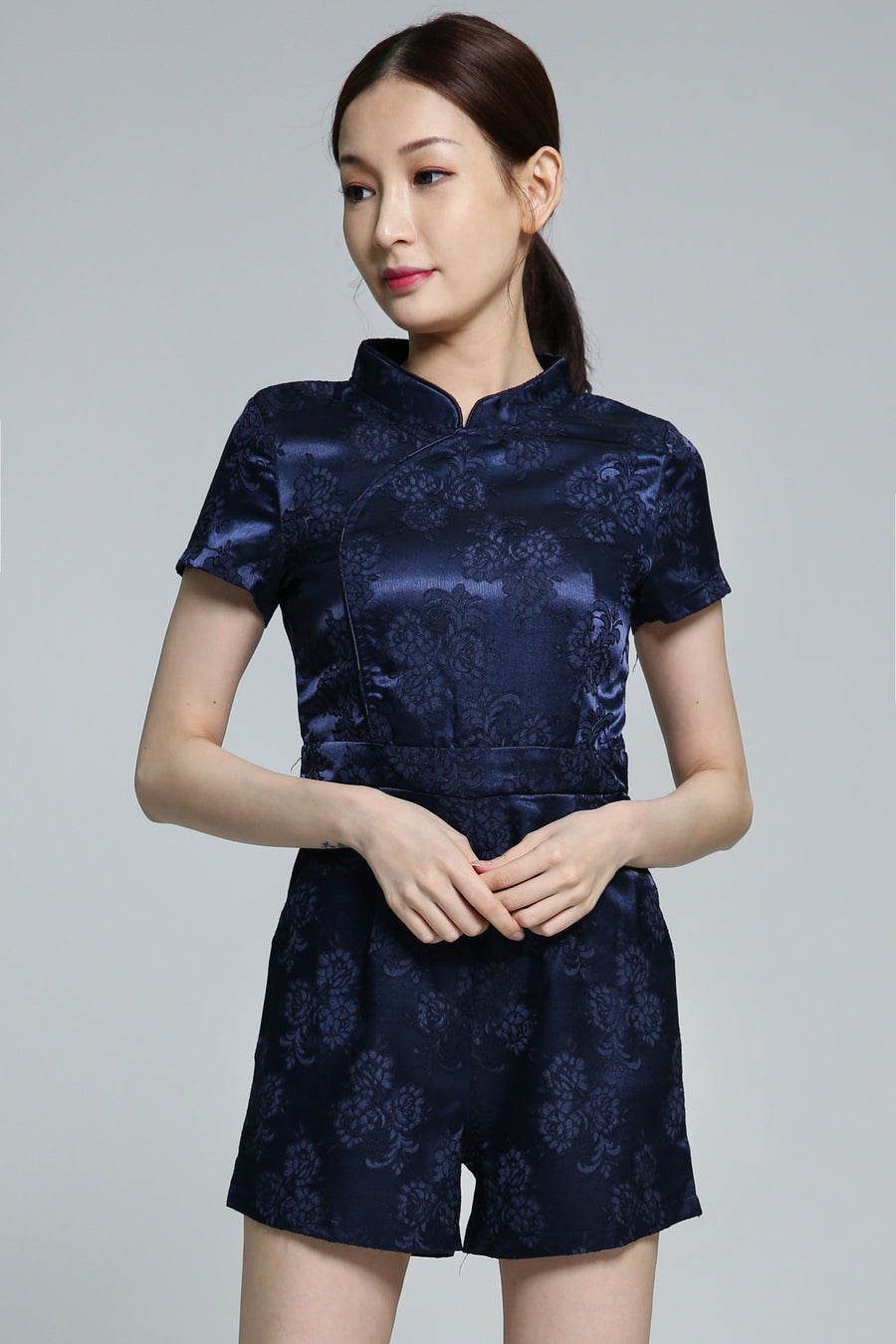 Cheongsam Playsuit 1871 - ample-couture