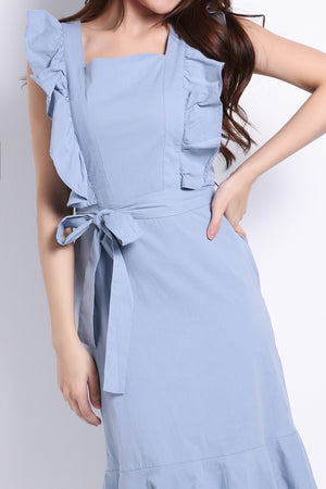 Ruffle Dress 8685