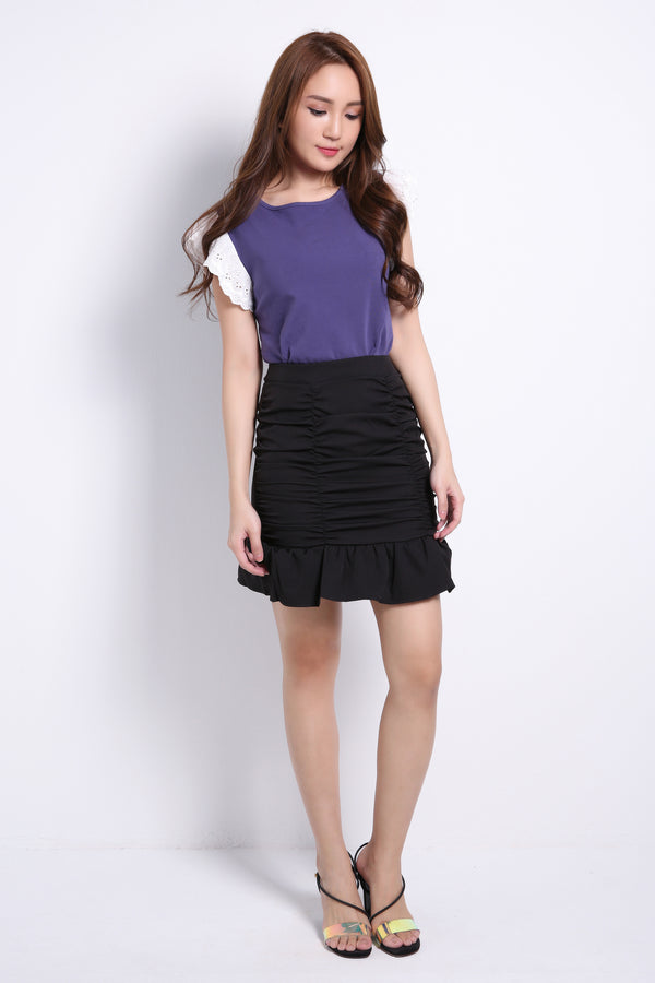 Ruched Skirt 8898