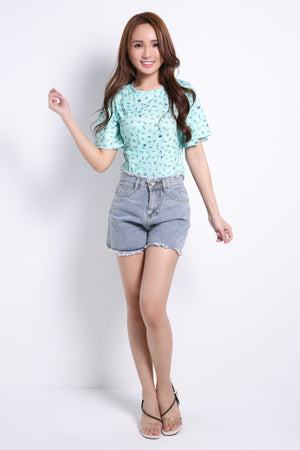 Butterfly Sleeve Top 8882