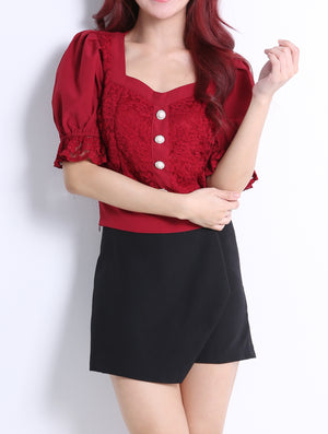 Front Button Top 10897