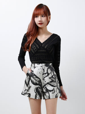Long Sleeves Lace Top (Premium Quality Pre-Order)