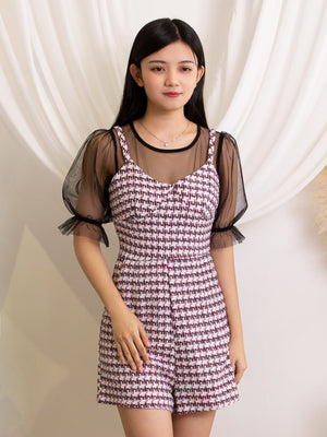 Houndstooth Playsuit 11377
