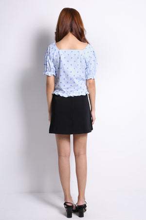 Polka Dot Top 9692