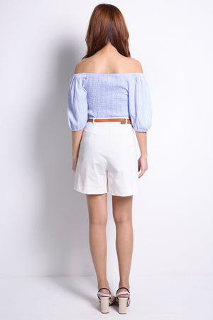 Plain Short Pants 9726A