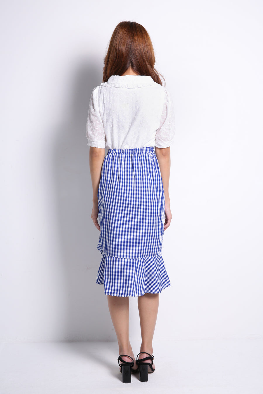 Checker Skirt 9757