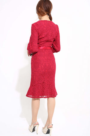 Lace Dress 1178 - ample-couture