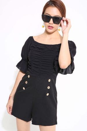 Button Playsuit 1217