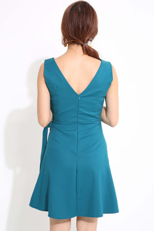 V-Neck Dress 1235 - Ample Couture