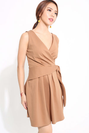 V-Neck Dress 1235 - ample-couture
