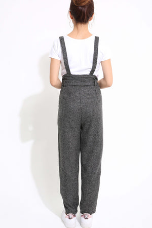 Checker Jumpsuit with Top Set 1248 - Ample Couture