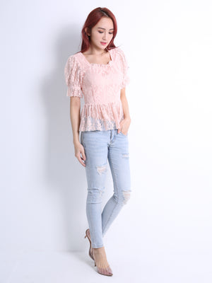 Lace Top 11057
