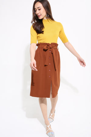 Button Skirt 1202