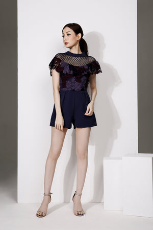 Lace Playsuit 1886