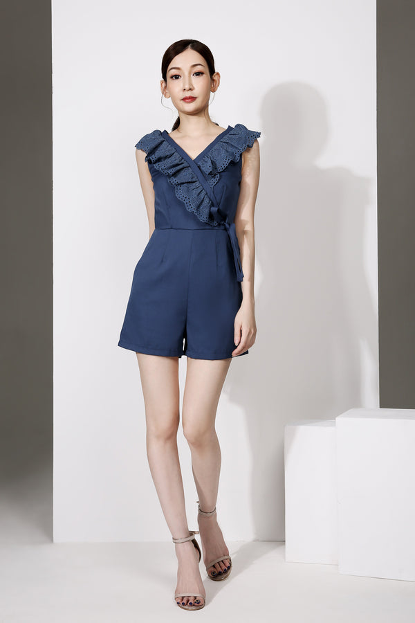 V-Neck Playsuit 1903