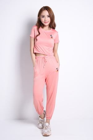 Mickey Top With Long Pants Set 9015A