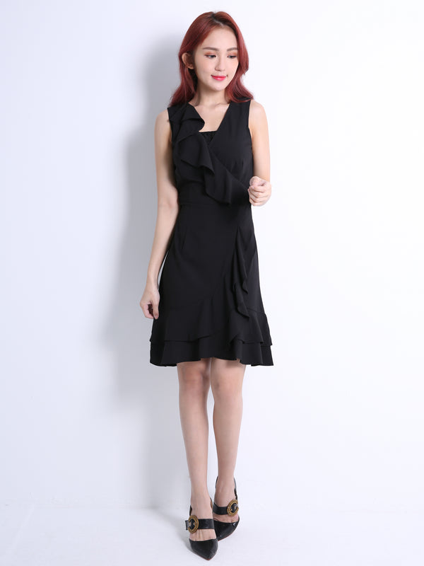 Ruffle Dress 11010