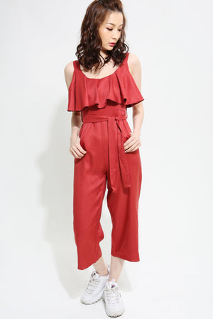 Plain Jumpsuit 0940