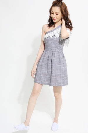 Checker Dress 0930  Dresses