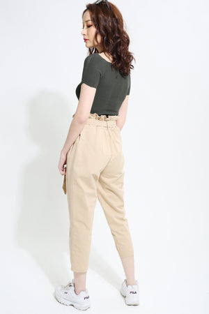 High Waist Pant 0944 - Ample Couture