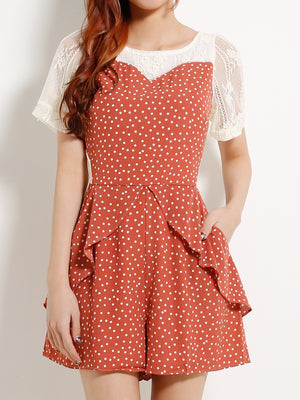 Polka Dot Playsuit 13061