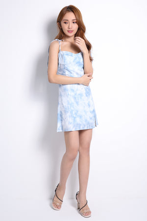 Strap Marble Dress 10403A