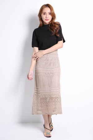 Knitted Long Skirt 10488A