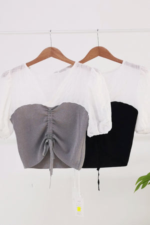 V Neck Blouse 10332