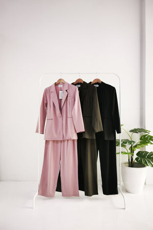 Coat With Long Pants Set 10426
