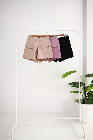Front Pocket Short Pants 10458