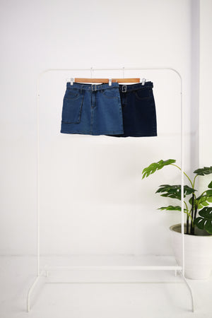 Denim Skirt 10475