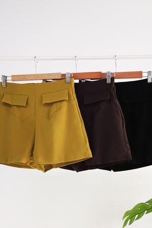 Plain Short Pants 10491