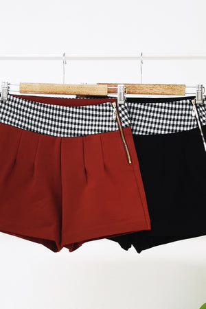 Side Zip Short Pants 10759