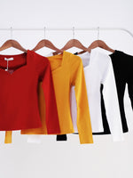Long Sleeve Basic Top 11113