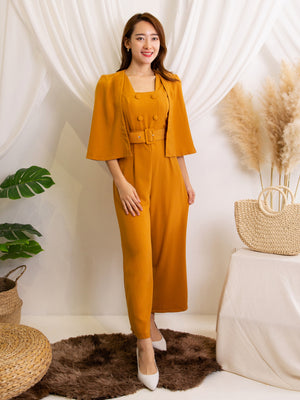 Cape Sleeve Jumpsuit 11112