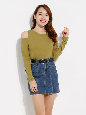 Cut Off Plain Top 12244
