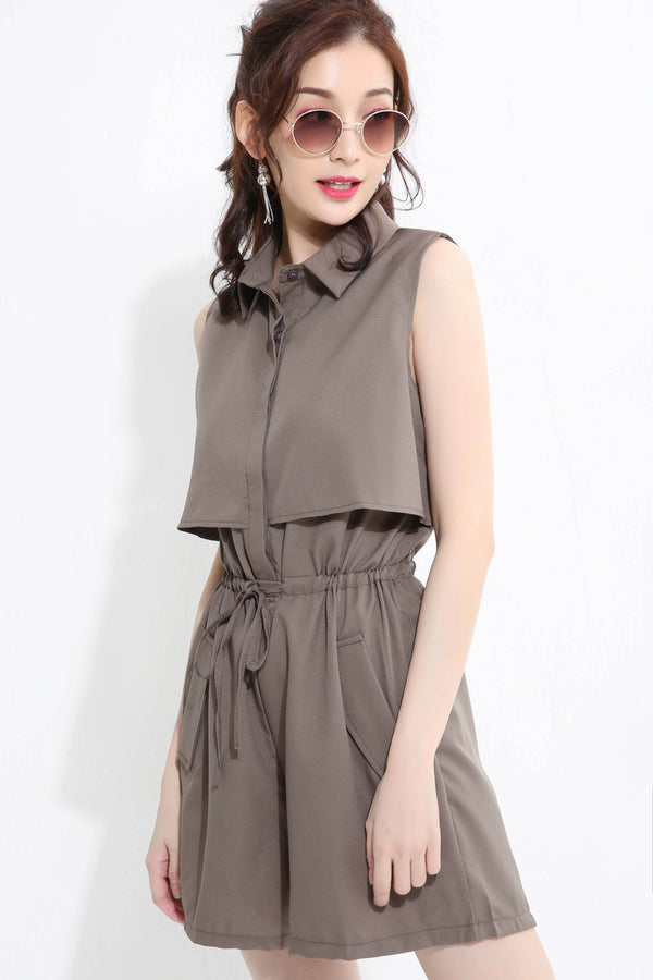 Button Playsuit