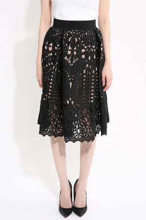 Lace Skirt - Ample Couture