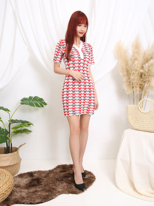Triangle Dress 11191