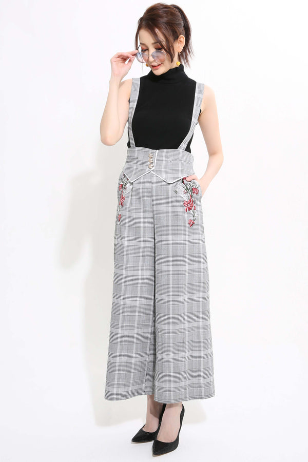 Checker Jumpsuit