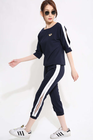 Eye Top with Pant Set - Ample Couture