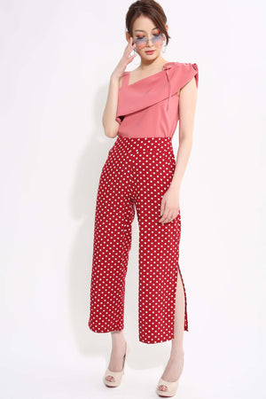 Polka Dot Pant 1314 - Ample Couture