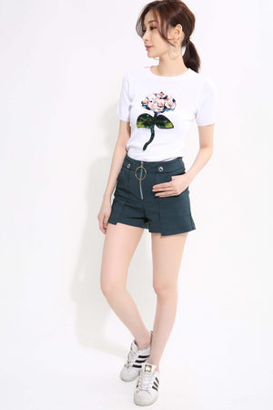 Flower Knit Top