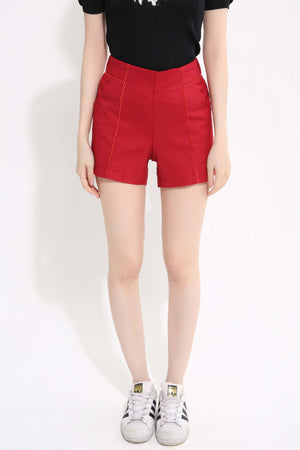Plain Pant 1306 Red / 28 Bottoms