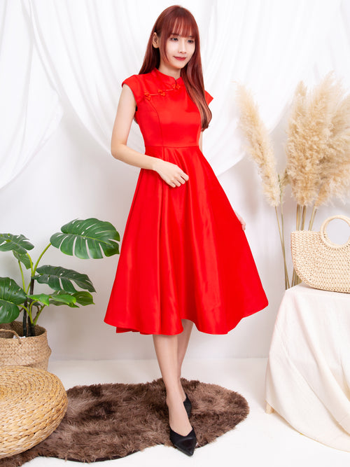 Sleeveless Cheongsam 11192