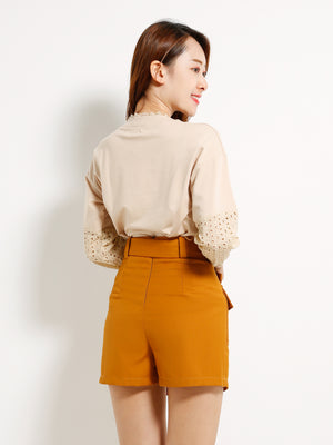 Split Short Pants 13189