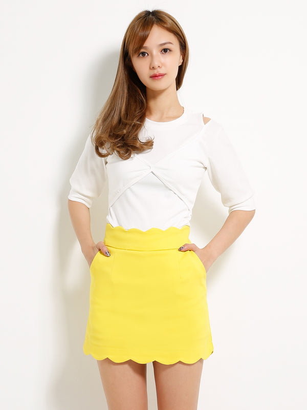 Cloud Shape Skirt 13182