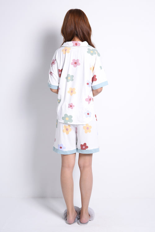 Flower Pajamas Set 9261A