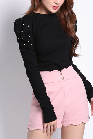 Puff Sleeve Top 9232
